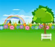 La primavera florece el ejemplo del vector Imagen de archivo libre de regalías