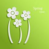 La primavera florece el fondo stock de ilustración