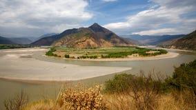 La primera bahía del río Yangzi Imágenes de archivo libres de regalías
