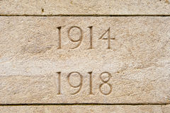La Primera Guerra Mundial Ypres Flander Bélgica de Bedford House Cemetery Fotografía de archivo libre de regalías