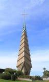 Frank Lloyd Wright: Iglesia en Phoenix/campana-torre Foto de archivo libre de regalías