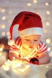 La primera Navidad Fotos de archivo libres de regalías