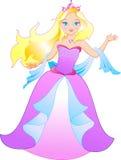 La princesa stock de ilustración
