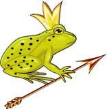 La princesa de la rana Imagen de archivo