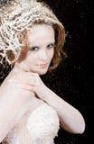 La princesa del invierno Imágenes de archivo libres de regalías