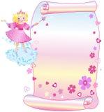 La princesa y el desfile stock de ilustración