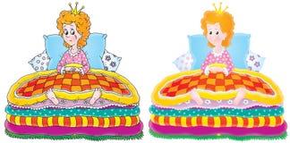 La princesa y el guisante libre illustration