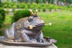 La princesse de grenouille Photos stock