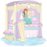 La principessa ed il pisello Immagini Stock Libere da Diritti