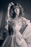 La principessa premurosa Fotografia Stock