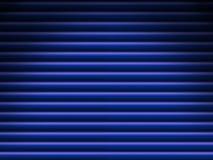 La priorità bassa blu del tubo si è illuminata drammaticamente Fotografie Stock