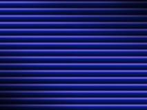 La priorità bassa blu del tubo si è illuminata drammaticamente Fotografia Stock