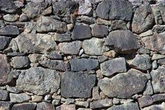 la priorità bassa colora la parete di pietra del grunge Immagine Stock