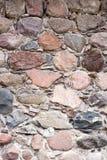 la priorità bassa colora la parete di pietra del grunge Immagini Stock Libere da Diritti