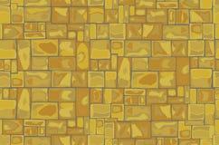 la priorità bassa colora la parete di pietra del grunge illustrazione vettoriale