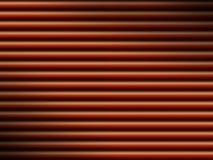 La priorità bassa rossa del tubo si è illuminata drammaticamente Immagini Stock Libere da Diritti