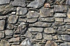 la priorità bassa colora la parete di pietra del grunge Fotografia Stock