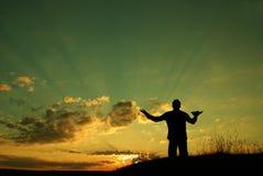 La prière Image libre de droits