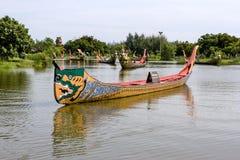 La processione reale del corso di acqua Immagini Stock