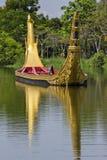 La processione reale del corso di acqua Fotografie Stock