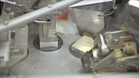 La production du beurre banque de vidéos