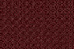 La progettazione del materiale illustrativo dell'illustrazione dei quadrati rossi e neri assomiglia ai tessuti o i vestiti modell fotografia stock