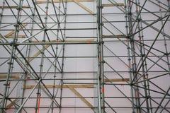 La progettazione di circuito principale d'acciaio è una grande scena all'aperto di concerto (vista dall'interno) Fotografia Stock