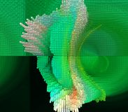 La progettazione grafica è astratta Arti grafiche Astrazione Struttura illustrazione vettoriale