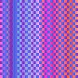 La progettazione variopinta di struttura dei quadrati con la rosa arancione blu colora il BAC Fotografie Stock