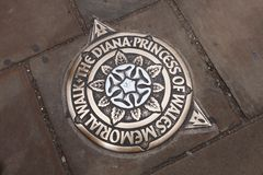 La promenade de Diana Princess Of Wales Memorial images stock