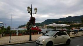 La promenade de Santa-Margherita-Ligure images libres de droits