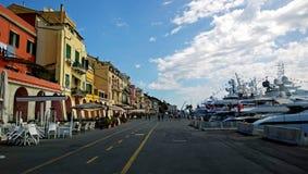 La promenade des Imperia en Italie images libres de droits