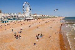 La promenade et le bardeau de Brighton échouent le Sussex est Angleterre du sud-est image libre de droits