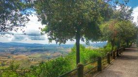 La promenade la plus étonnante avec une vue Photo stock