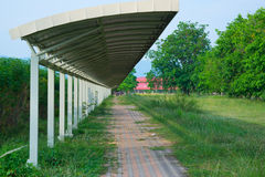 La promenade latérale Images stock