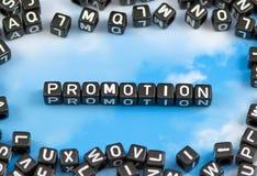 La promozione di parola Immagine Stock