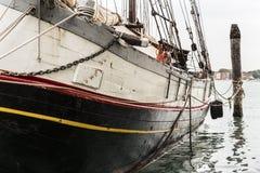 La prora della barca Immagine Stock