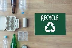 La protección ambiental recicla el salvar vidas verde Preservatio Foto de archivo