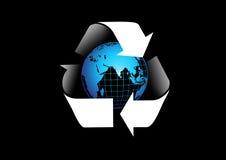 La protección del medio ambiente de la tierra Foto de archivo libre de regalías