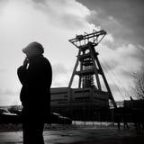La protesta Acción-de la huelga de mineros silesios Imagen de archivo
