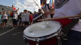 La protesta de la diáspora - Bucarest Rumania