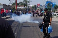 La protestation de jour de travail march Tegucigalpa le Honduras en mai 2019 13 images libres de droits