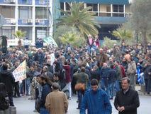 La protestation 3 des agriculteurs Photos libres de droits