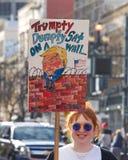 Women`s Protest March, San Francisco, CA 2019