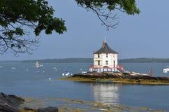 La protuberanza fuori di Bustin& x27; s in Maine Fotografia Stock Libera da Diritti