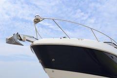 La proue de yacht Images libres de droits