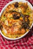 La Provence d'à de poulet Image libre de droits