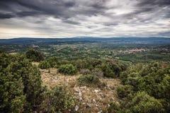 La Provence triste photo stock