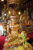 La provincia de Phetchaburi, Tailandia tiene Wat Mahathet es antigua durante 200 años Imagen de archivo libre de regalías