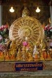 La provincia di Phetchaburi, Tailandia ha Wat Mahathet è antica in 200 anni Immagine Stock Libera da Diritti